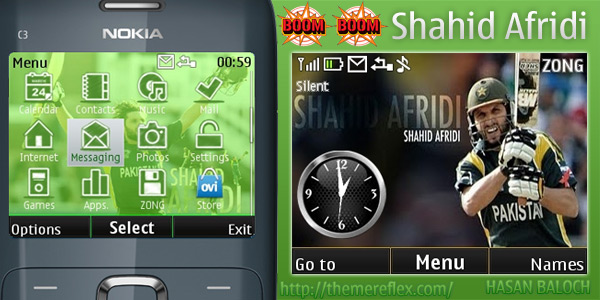 Themes for Nokia X2-01 | Hasan Baloch